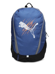Puma Unisex Blue Echo Backpack