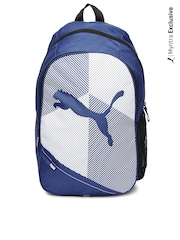 Puma Unisex Blue Echo Plus Backpack