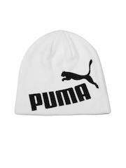 Puma Unisex White No1 Beanie
