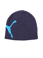Puma Unisex Navy Big Cat Beanie