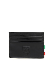 Puma Unisex Black Card Holder