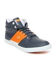 Puma Men Grey El Ace Casual Shoes