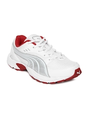 Puma Kids White Atom DP Casual Shoes