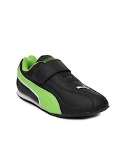 Puma Kids Black Wiki Jr Casual Shoes