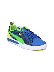 Puma Kids Blue Futuresuede Rualegre Jr Casual Shoes