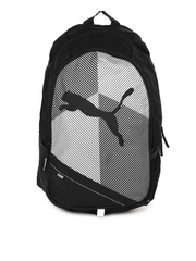 Puma Unisex Echo Plus Black & White Backpack