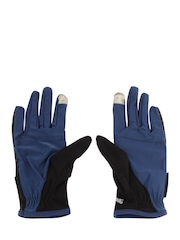 Puma Unisex Blue & Black Running Essentials Gloves