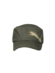 Puma Unisex Green Fairview Military Cap