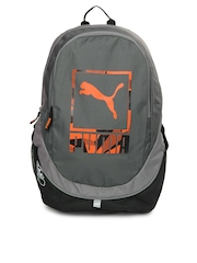 Puma Unisex Grey Echo Backpack