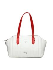 Puma White Ferrari LS Shoulder Bag