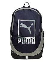 Puma Unisex Navy & Grey Echo Backpack