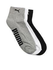 Puma Unisex Pack of 3 Socks