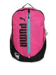 Puma Unisex Pink Deck Backpack