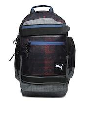 Puma Unisex Purple & Grey PY Blaze Backpack