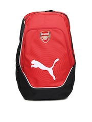 Puma Unisex Red Arsenal Football Backpack