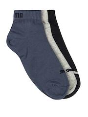 Puma Unisex Set of 3 Socks