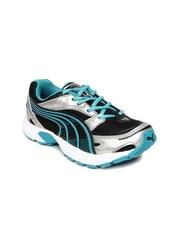 Puma Kids Black Axis Jr Ind Sports Shoes
