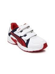 Puma Kids White Axis v3 SL V Running Shoes