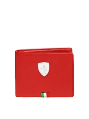 Puma Men Red Wallet