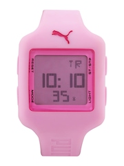 Puma Women Pink Digital Watch