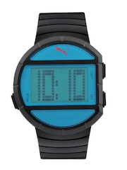 Puma Unisex Black Digital Watch
