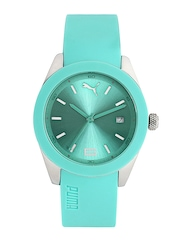 Puma Unisex Green Dial Watch