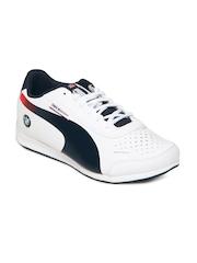 Puma Unisex White evoSPEED Lo BMW 2 Jr Sports Shoes