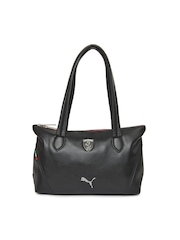 Puma Black Ferrari LS Shoulder Bag