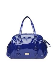 Puma Blue Splash Grip Duffle Bag
