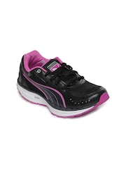 Puma Women Black BodyTrain Tech Sports Shoes