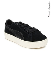 Puma Women Black Classic Extreme Suede Casual Shoes
