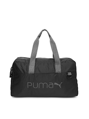 Puma Women Black Core Grip Duffle Bag