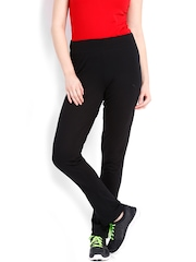 PUMA Women Black ESS Jersey Track Pants