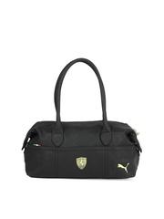 Puma Women Black Ferrari Handbag