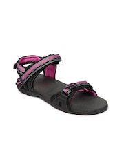 Puma Women Black Nova Ind Sports Sandals