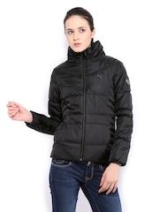 Puma Women Black Padded Jacket