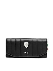 Puma Women Black Ferrari Wallet