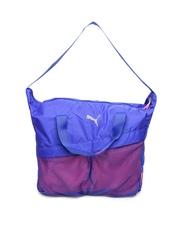 Puma Women Purple Gym Workout Bag