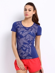 Puma Women Blue Gym Top