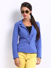 Puma Women Blue Jacket