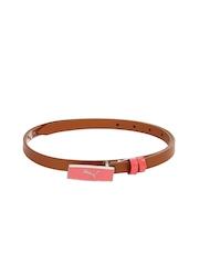 Puma Women Brown Belt