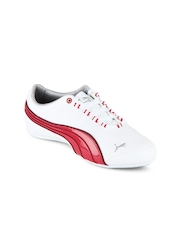 Puma Women White & Pink Soleil FS Casual Shoes