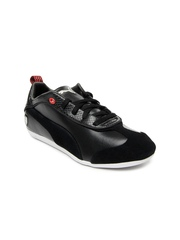 Puma Women Black Cara Lo Pelle Ferrari Casual Shoes