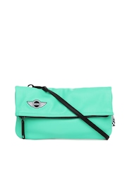 Puma Green Mini Lifestyle Sling Bag