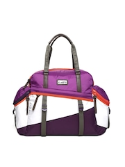 Puma Women Purple Fame Edge Duffle Bag