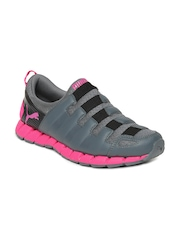 Puma Women Grey Osu v4 DP Running Shoes