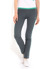 Puma Women Grey Track Pants
