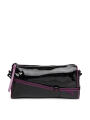 Puma Black Mini Lifestyle Sling Bag