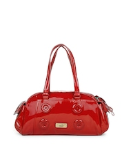 Puma Women Ribbon Red Splash Handbag