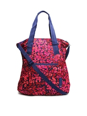 Puma Pink & Red Printed Shoulder Bag